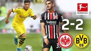 Sancho's Record Goal & BVB's Late Own Goal I Eintracht Frankfurt vs. Borussia Dortmund I 2-2