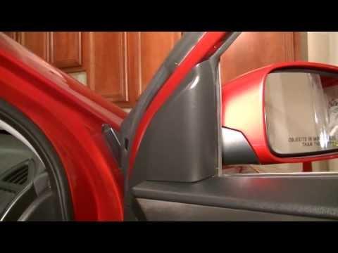 Hyundai Sonata 2011-2013 Removing The Front Door Panel