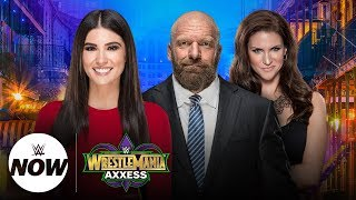 WWE Now with Cathy Kelley Live during WrestleMania Week
