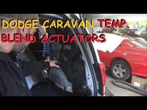 Dodge Grand Caravan - Rear Heater Clicking / Front Heat Stuck On Hot