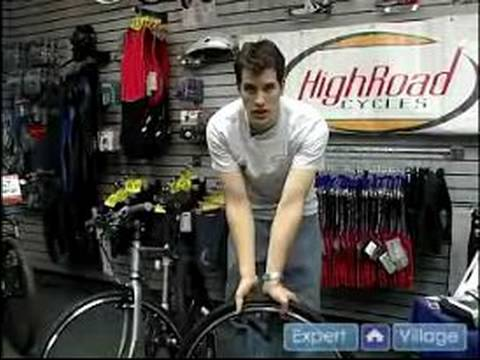 How to Fix Bicycle Tires : Checking Your Bike's Tire Pressure