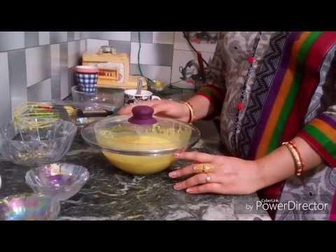 Gujarati dish ....Dhokla ...in a microwave