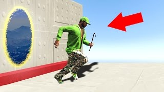 TELEPORT CHALLENGE IN GTA 5! (GTA 5 Funny Moments)