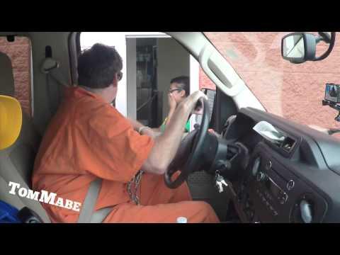 Prisoner Drive Thru Prank! - Tom Mabe Pranks