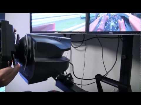 Ferrari Formula F1 Wheel by Thrustmaster - Setup for F1 2011