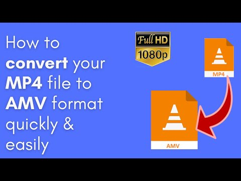 How to convert MP4 to AMV