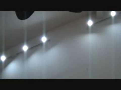 Turning your spare bedroom into a YouTube Studio: check out the newly installed track lights