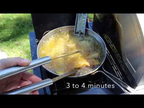 Outdoor Fish Fry with Tilapia Fillets