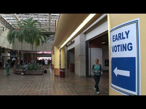 Early voting begins in Florida