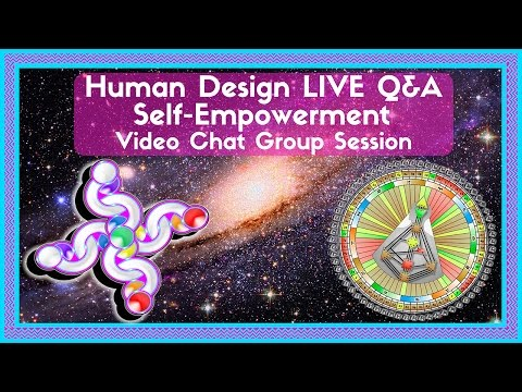 Free Your Mind to Shine Human Design LIVE Q&A Self-Empowerment Group Session