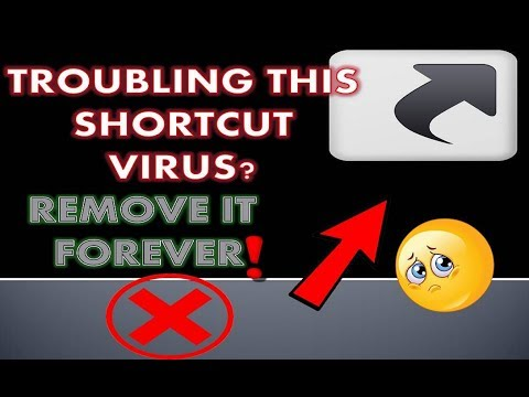 How to permanently remove Shortcut Virus from computer, usb manually without using antivirus