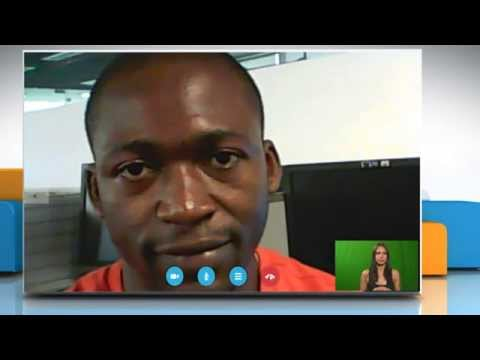 How to make a video call on Skype® for Windows® 8.1