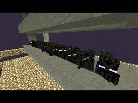 Minecraft Xbox/Playstation : Simple & Efficient Enderman Farm! {Tutorial}