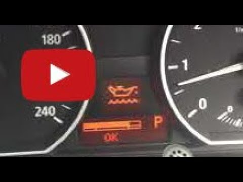 How to check the OIL in a BMW. No Dipstick 1 3 5 7 series X1 X3 X4 X5 X6 Electronic dash not iDrive