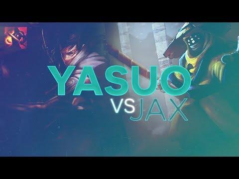 Yasuo TOP - Yasuo vs Jax Patch 7.10 (Fervor)