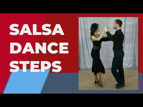 Salsa dance steps for beginners - Salsa basic steps