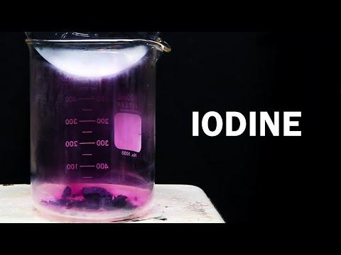 Elemental Iodine from Iodine-Povidone