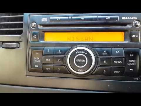 NISSAN Car  Radio- Stereo System Code Solution - Decoding Stereo