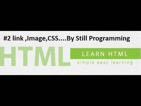 Html #2 Css ,link ,image ,style