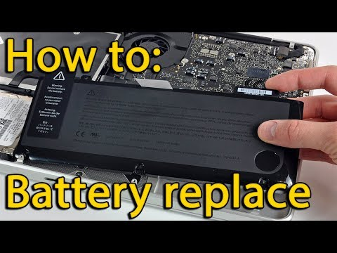 Acer Aspire ES1-521, ES1-520 battery replacement