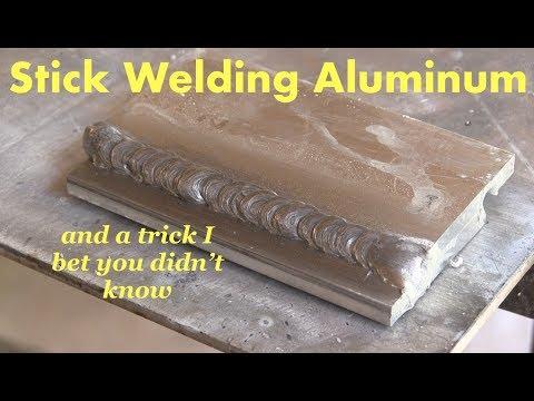 Stick Welding Aluminum & Weird Trick