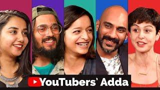 Youtube Creators Adda | Bhuvan Bam, Prajakta Koli, Sherry Shroff, Lisa Mishra, Sahil Khattar