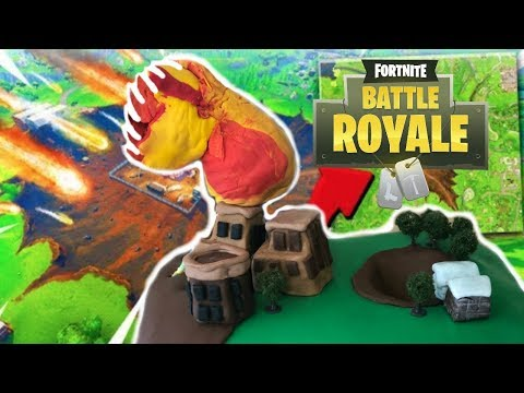 Fortnite Dusty Divot Tilted Towers Meteorite CAKE Preview