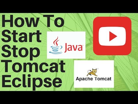 HOW TO START STOP TOMCAT SERVER IN ECLIPSE