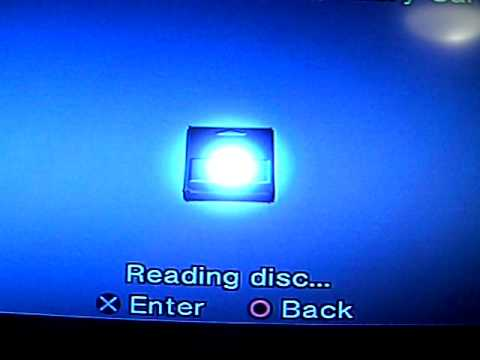PS2 Disc Reading Problem
