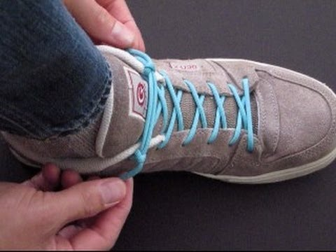 How to Cinch Your Shoes in 0.5 Seconds!