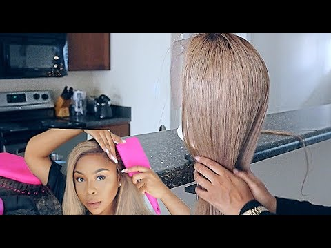 Lace Series: What It's REALLY Like Making A Frontal Wig At Home Using Youtube Videos