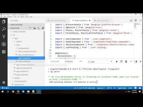 Separate Admin Area And User Area in Angular 6