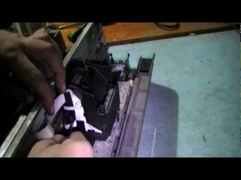 Epson C59 / T10 / C79 / C90 Head Removal Guide