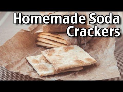 Homemade Soda Crackers (Saltines)