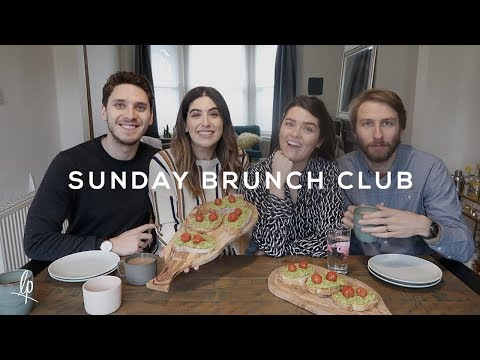 SUNDAY BRUNCH CLUB: with Anna & the boys | Lily Pebbles