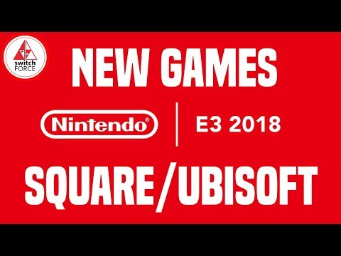 E3 2018 Nintendo - MONDAY NEW SWITCH GAMES! (Trials Rising, Starlink, Octopath)