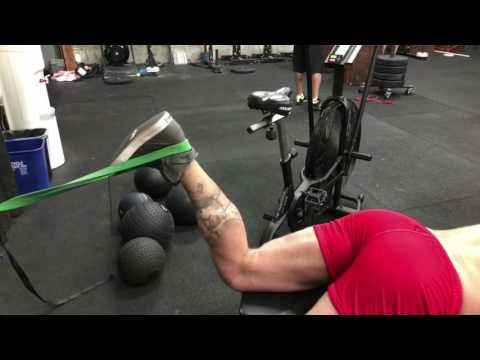 Hamstring and Traps Assistance Work