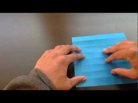How to make a Flapping Origami Butterfly
