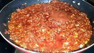 schezwan sauce recipe │ Homemade schezwan sauce