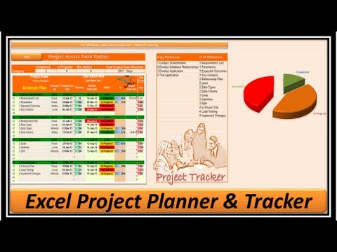 Excel -- Project Management - Project Manager -- Excel 2013