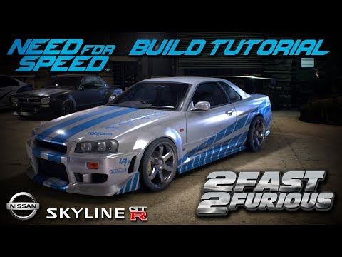 Need for Speed: Payback - Paul Walkers GTR Skyline Build for Playstation ,Xbox & PC