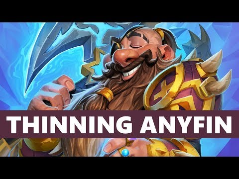 Deck thinning theory and ANYFIN PALADIN :: Hearthstone :: Building in Casual #1