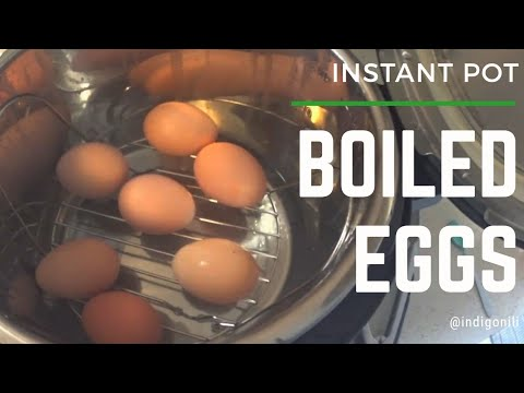 Boiled Eggs (Instant Pot)