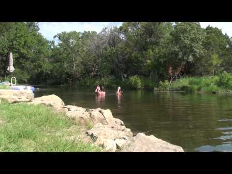 Swimming Hole on Keechi Creek, Texas