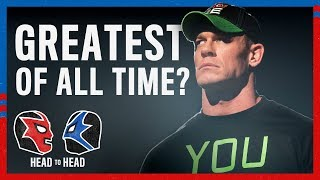 Is John Cena the Greatest of All Time?: WWE Head to Head