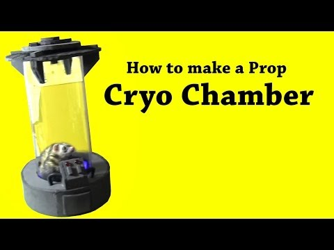 How to Make a Stasis Chamber Prop