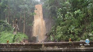 Landslides, floods, air rescues ongoing with flash flood warning extended on Kauai
