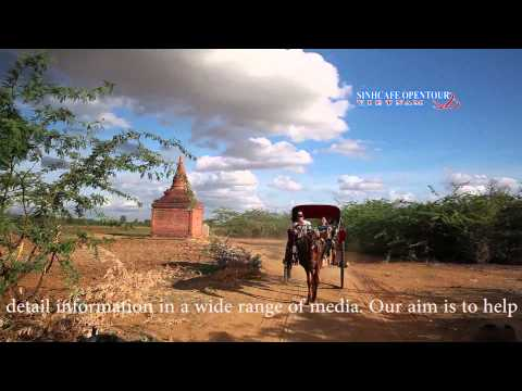 The Temples & Pagodas Of Bagan   Travel Around Bagan Myanmar   SinhCafeOpentour 2