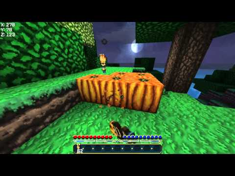 Minecraft - How To Make A Jack O Lantern (Jack O Lantern Tutorial)