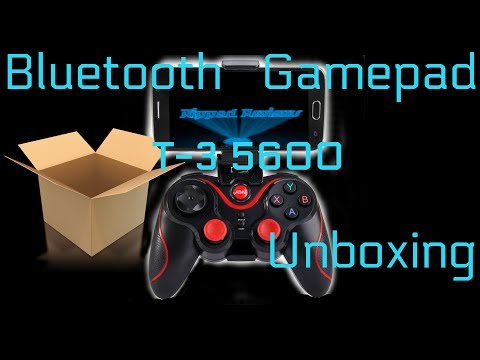 T3 5600 Bluetooth Gamepad Controller Unboxing